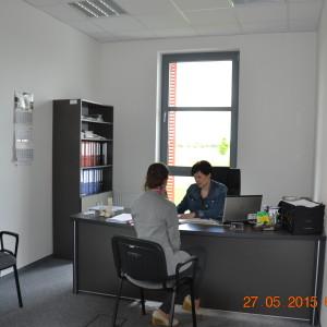 Pomieszczenie biurowe w IPC