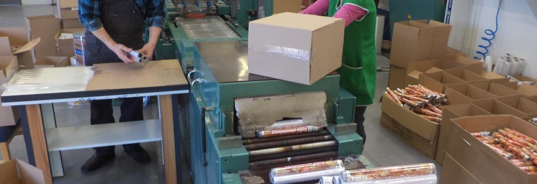 Produkcja folii aluminiowej na terenie IPC