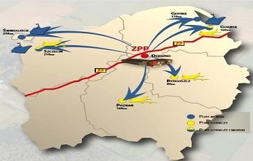 Lokalizacja terenów inwestycyjnych